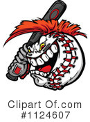 Baseball Clipart #1124607 by Chromaco