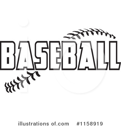 Baseball Clipart #1158919 by Johnny Sajem