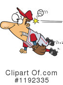 Baseball Clipart #1192335 by toonaday