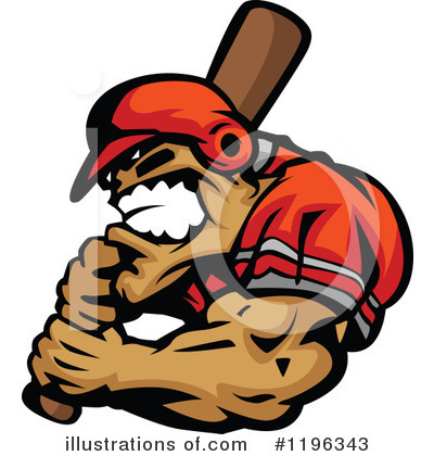 Baseball Clipart #1196343 by Chromaco