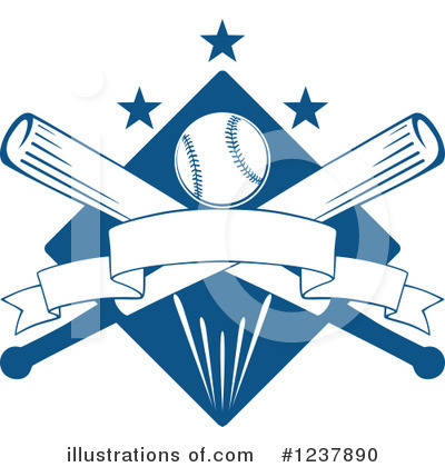 Baseball Clipart #1237890 by Vector Tradition SM