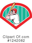 Baseball Clipart #1242082 by patrimonio