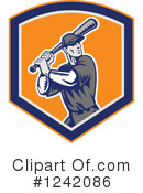 Baseball Clipart #1242086 by patrimonio