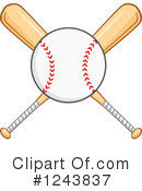 Baseball Clipart #1243837 by Hit Toon