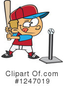 Baseball Clipart #1247019 by toonaday