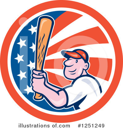 Baseball Clipart #1251249 by patrimonio