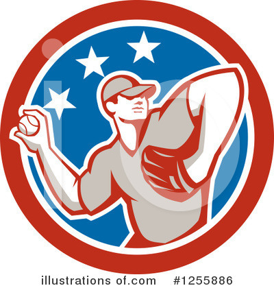 Baseball Clipart #1255886 by patrimonio