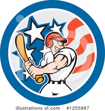 Baseball Clipart #1255887 by patrimonio