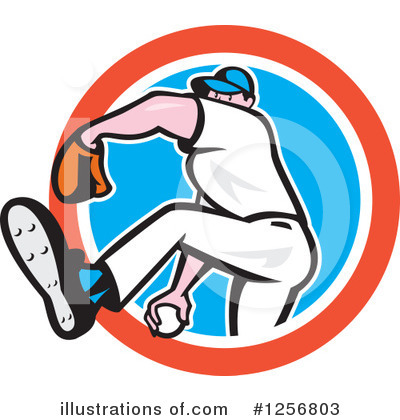Baseball Clipart #1256803 by patrimonio