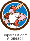 Baseball Clipart #1256804 by patrimonio
