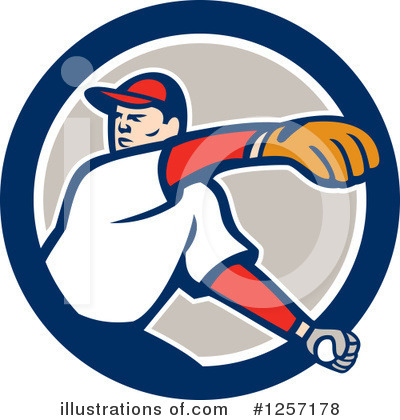Baseball Clipart #1257178 by patrimonio