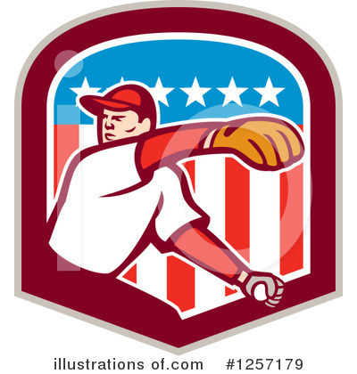 Baseball Clipart #1257179 by patrimonio