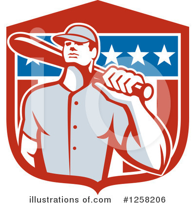 Baseball Clipart #1258206 by patrimonio