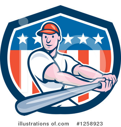Baseball Clipart #1258923 by patrimonio