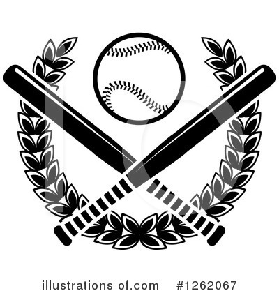 Baseball Clipart #1262067 by Vector Tradition SM