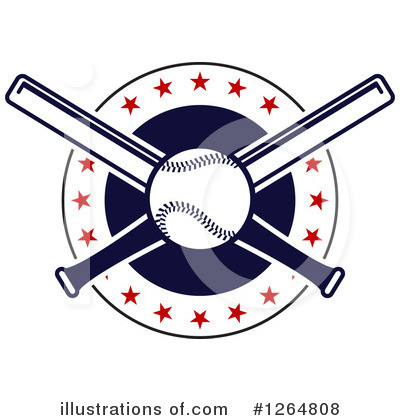 Baseball Clipart #1264808 by Vector Tradition SM