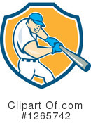 Baseball Clipart #1265742 by patrimonio