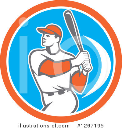 Baseball Clipart #1267195 by patrimonio