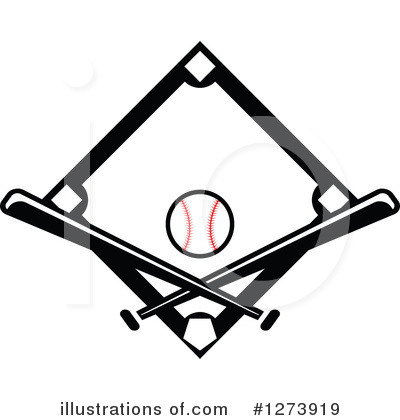 Baseball Clipart #1273919 by Vector Tradition SM