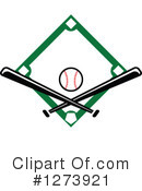 Royalty-Free (RF) Baseball Clipart Illustration #1273921