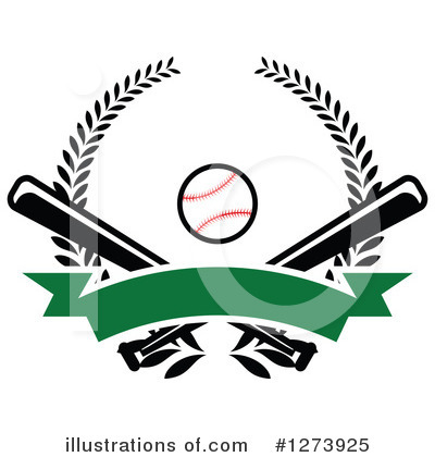 Baseball Clipart #1273925 by Vector Tradition SM