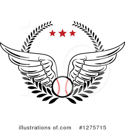Baseball Clipart #1275715 by Vector Tradition SM