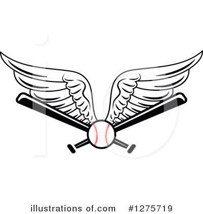 Baseball Clipart #1275719 by Vector Tradition SM