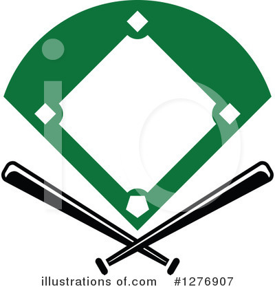 Baseball Clipart #1276907 by Vector Tradition SM