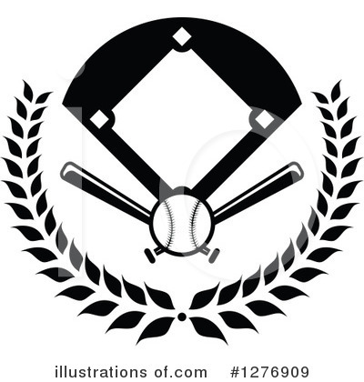 Baseball Clipart #1276909 by Vector Tradition SM
