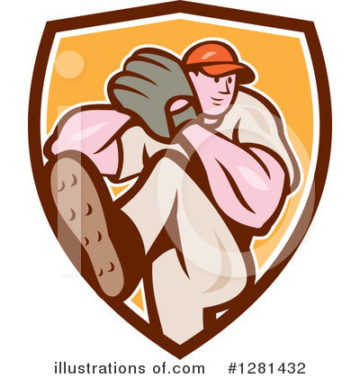 Baseball Clipart #1281432 by patrimonio