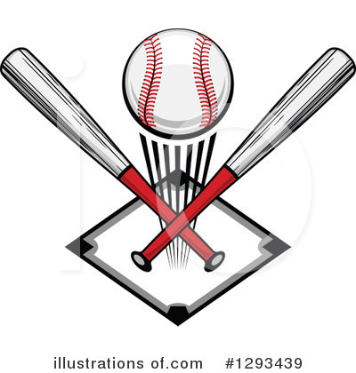 Baseball Clipart #1293439 by Vector Tradition SM
