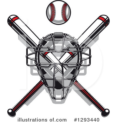 Baseball Clipart #1293440 by Vector Tradition SM