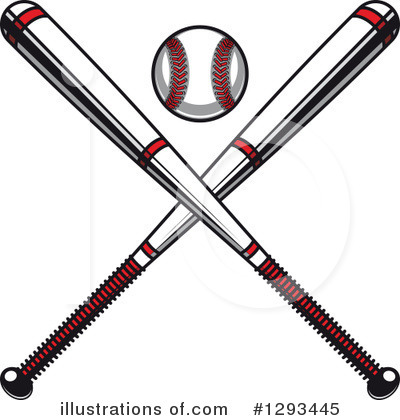 Baseball Clipart #1293445 by Vector Tradition SM