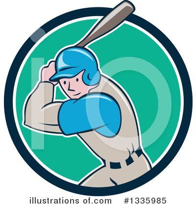 Baseball Clipart #1335985 by patrimonio