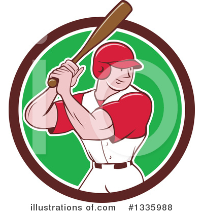 Baseball Clipart #1335988 by patrimonio