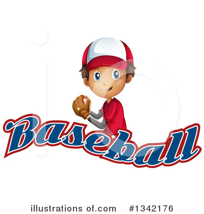 Royalty-Free (RF) Baseball Clipart Illustration by Graphics RF - Stock Sample #1342176