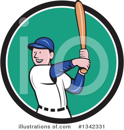 Baseball Clipart #1342331 by patrimonio