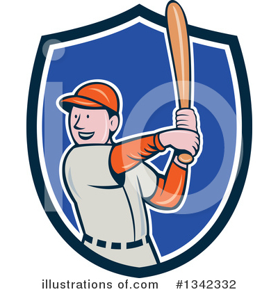 Baseball Clipart #1342332 by patrimonio