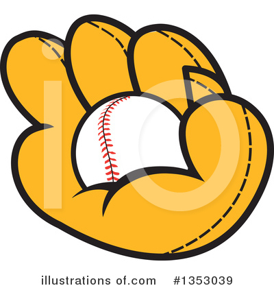 Baseball Clipart #1353039 by Johnny Sajem