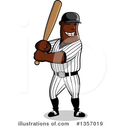 Baseball Clipart #1357019 by Vector Tradition SM