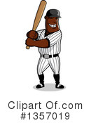 Royalty-Free (RF) Baseball Clipart Illustration #1357019
