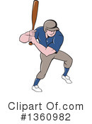 Baseball Clipart #1360982 by patrimonio
