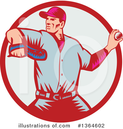 Pitching Clipart #1364602 by patrimonio
