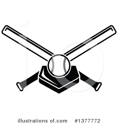 Baseball Clipart #1377772 by Vector Tradition SM