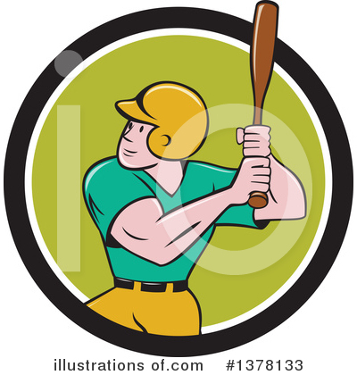 Baseball Clipart #1378133 by patrimonio