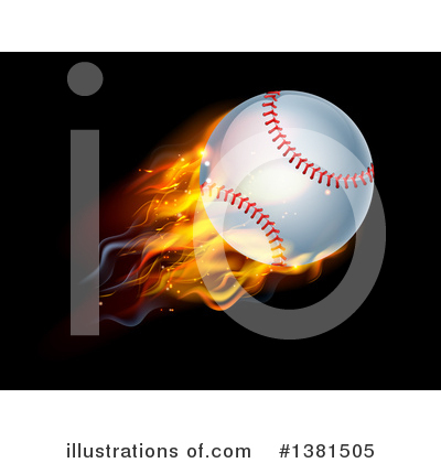 Baseball Clipart #1381505 by AtStockIllustration