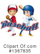 Baseball Clipart #1387835 by Graphics RF