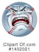 Baseball Clipart #1402021 by AtStockIllustration