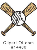 Royalty-Free (RF) Baseball Clipart Illustration #14480