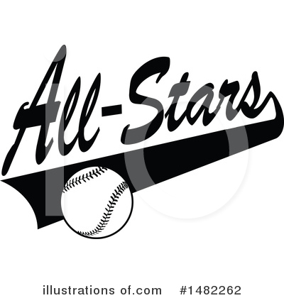 Baseball Clipart #1482262 by Johnny Sajem